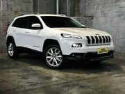 2015 Jeep Cherokee KL MY15 Limited White 9 Speed Sports Automatic Wagon Mile End South West Torrens Area Preview