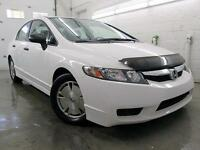 2011 Honda Civic DX-G BLANC AUTOMATIQUE A/C MAGS CRUISE 98,000KM