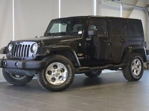 2015 Jeep Wrangler Unlimited Sahara-Nav-Heated Leather Seats-Alp