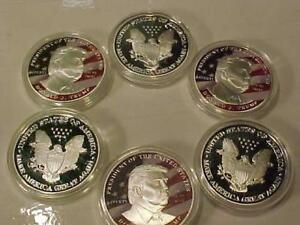 DONALD J. TRUMP COINS ***MAKE AMERICA GREAT AGAIN***LTD # AVAILABLE  $8.00 EA-2 for $15.00 or 3 for $20.00-S/H-$5.95.00