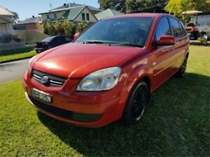 2008 Kia Rio JB LX Red 5 Speed Manual Hatchback Broadmeadow Newcastle Area Preview