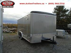 2017 8X16 ATLAS! - THE PERFECT ENCLOSED CONSTRUCTION TRAILER! London Ontario image 1