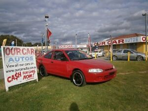 2001 Mitsubishi Lancer 2 DOOR COUPE JUST PITTED Red 5 Speed Manual Coupe Maddington Gosnells Area Preview
