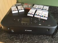 Canon Pixma MG5650 printer/scanner with spare ink