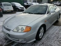 HYUNDAI COUPE 2.0S 2004 REG 3DR COUPE LEATHER ALLOYS