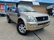 2006 Holden Rodeo RA MY06 Upgrade LT (4x4) Gold 5 Speed Manual Crew Cab Pickup Belconnen Belconnen Area Preview