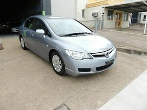 2007 Honda Civic 8th Gen MY07 VTi Blue 5 Speed Manual Sedan Yeerongpilly Brisbane South West Preview