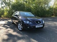 2009 SEAT LEON S EMOCION BBLUE PETROL 66,000 MILES ONE OWNER GREAT CAR MUST SEE £4250 OLDMELDRUM