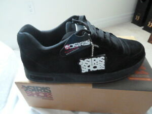 New Osiris Merk skater shoe in black
