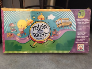 Discovery Toys Timing It Right! Board Game