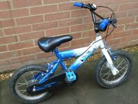 Star Wars Clone Wars kids bike, suitable 3-5 years.