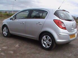VAUXHALL CORSA 1.4 DESIGN 5 DR SILVER 1 YRS MOT CLICK ONTO VIDEO LINK TO SEE CAR IN GREATER DETAIL