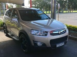 2011 Holden Captiva SX 7 SEATS Series 2 Gold 5 Speed Tiptronic Wagon Taren Point Sutherland Area Preview
