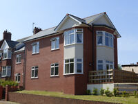 A modern centrally located first floor flat