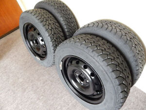 Goodyear Nordic Winter Tires on Rims (Only 2 Winters)