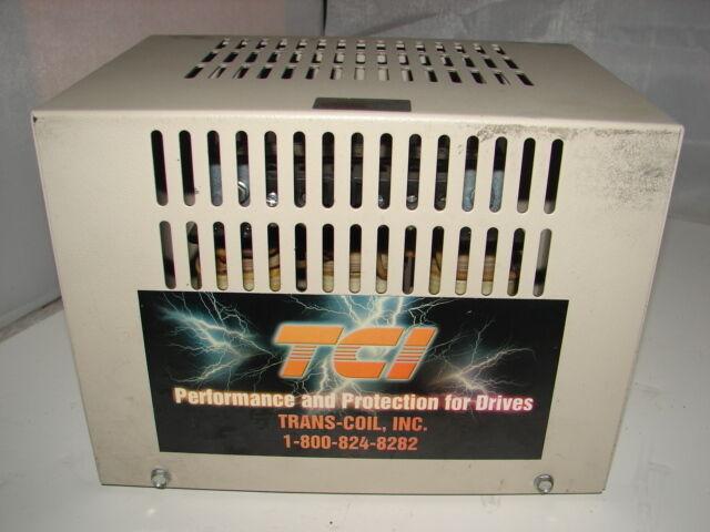 TCI/TRANS-COIL KLR21ATB2 LINE REACTOR 21AMP ***XLNT***