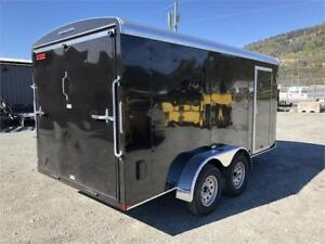 NEW 14'X7' BLACK ENCLOSED TRAILER RV WINDOW 7K