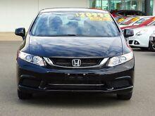 2014 Honda Civic 9th Gen Ser II MY13 VTi Crystal Black 5 Speed Sports Automatic Sedan Garbutt Townsville City Preview