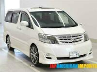 FRESH IMPORT 2007 FACE LIFT TOYOTA ALPHARD ESTIMA 3.0 VVTI AUTO SUNROOF PEARL