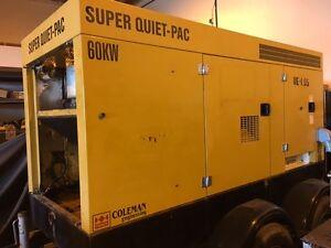 60Kw MOBILE SUPER QUIET-PAC GENERATOR Prince George British Columbia image 3