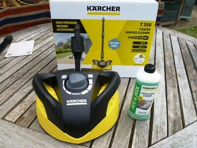 Genuine Karcher T350 Patio Cleaner HEAD ONLY + 500ml Patio Cleaner K2 to K7 BN