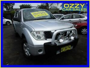 2005 Nissan Pathfinder R51 ST (4x4) Silver 6 Speed Manual Wagon Minto Campbelltown Area Preview