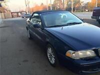 1998 Volvo C70 Series Convertible Vehicle is being sold AS-IS