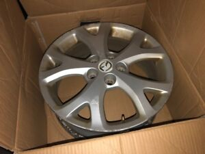 From MAZDA 3: 17x6.5 5 Y-Spoke Chrome Alloy Factory Wheel