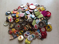 Vintage Pinback Buttons and Pins