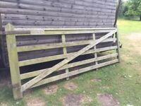 farm field gate