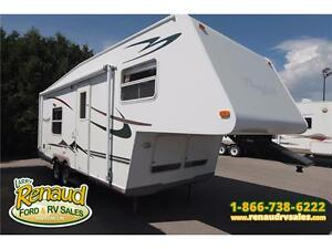 USED 2005 Forest River Flagstaff 523 RB 5th Wheel