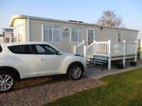 Static 2 Bedroom 6 Berth Holiday Caravan, Hylton Park Silloth Cumbria,Aug dates available