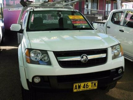 2008 Holden Colorado RC LX White 4 Speed Automatic Cab Chassis