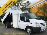 2012/ 12 Ford Transit 2.2TDCi 125 350m Tipper+Pod Toolbox DRW