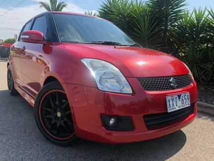2010 Suzuki Swift EZ MY07 Update RE.4 Red 4 Speed Automatic Hatchback Hoppers Crossing Wyndham Area Preview