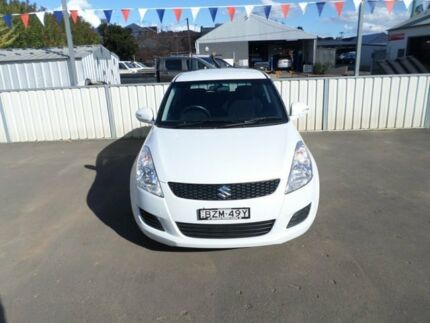 2012 Suzuki Swift FZ GL 5 Speed Manual Hatchback Young Young Area Preview