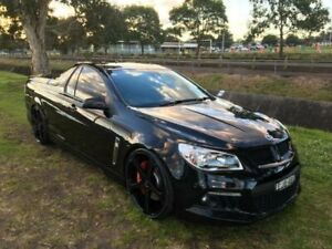 2013 Holden Special Vehicles Maloo Gen F R8 Black 6 Speed Manual Utility Mayfield East Newcastle Area Preview