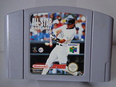N64 Game - all-Star Baseball 99 (Pal) (Module)