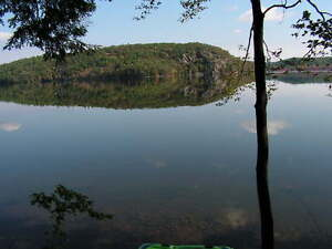 Lake Mazinaw, Walk to Bon Echo Park,  Aqua Cycle