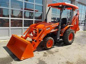 2017 KUBOTA B26 TRACTOR LOADER BACKHOE