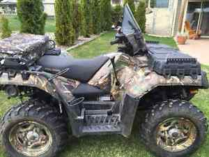 NEW PRICE, 2011 POLARIS SPORTSMAN 550XP EFI BROWNING EDITION EPS
