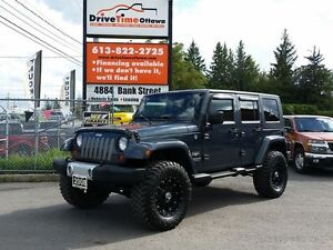 2008 Jeep Wrangler Sahara Unlimited 4dr 4x4 Lifted **AUTOMATIC**