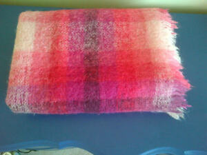 Vintage Mohair Throw