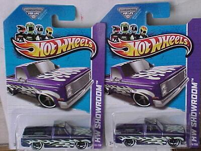 Hot Wheels 2013 83 Chevy Silverado Lot of 2 cars