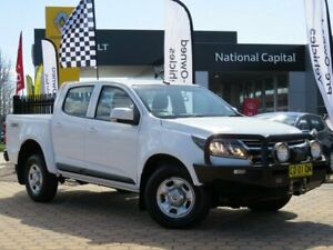 2017 Holden Colorado RG MY17 LS Pickup Crew Cab White 6 Speed Sports Automatic Utility Greenway Tuggeranong Preview