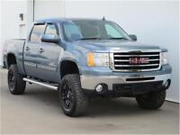 2012 Sierra 6.2L Crew 4X4 SLT Lifted Leather/Roof/Nav Low $$