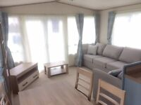 MODERN 3 BED STATIC CARAVAN FOR SALE. SITED ON HOLIDAY PARK NR GORLESTON GREAT YARMOUTH NORFOLK