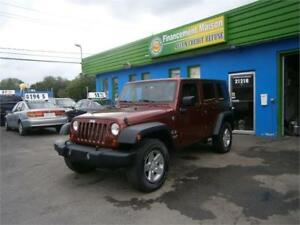 2009 Jeep Wrangler Unlimited X a partir de 90$ + tx  semaine