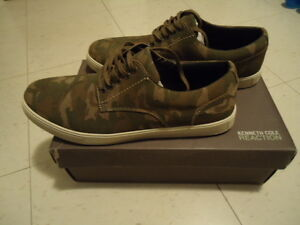 BRAND NEW IN BOX KENNETH COLE SUEDE CAMO SHOES 11.5- 12