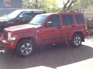 2009 JEEP LIBERTY 177KMS $6995 MIDCITY 1831 SASK AVE